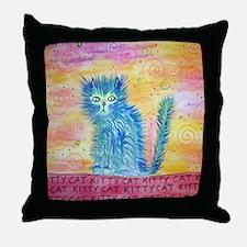 kittycat Throw Pillow