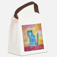 kittycat Canvas Lunch Bag