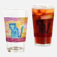 kittycat Drinking Glass