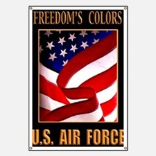 Freedom AIR FORCE 16X20 Banner