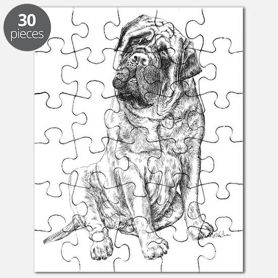 Mastiff Sitting Puzzle