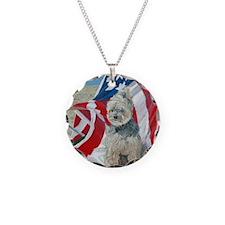 SQ FlagMorkie Necklace