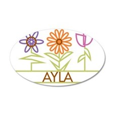 AYLA-cute-flowers Wall Decal