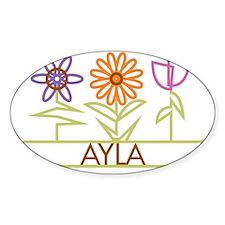 AYLA-cute-flowers Decal