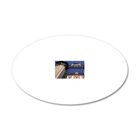Nove Mesto: Vila Amerika and 20x12 Oval Wall Decal