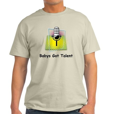 babys got talent Light T-Shirt