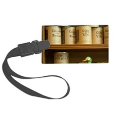 Conserve cans with different kin Luggage Tag