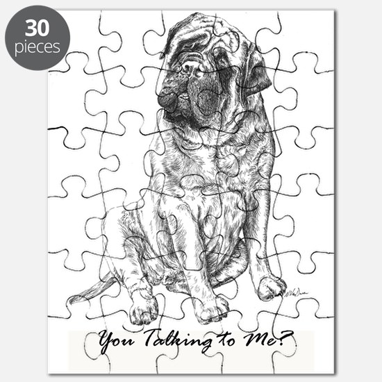 Mastiff You Talking To Me Puzzle