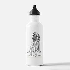 Mastiff You Talking To Water Bottle
