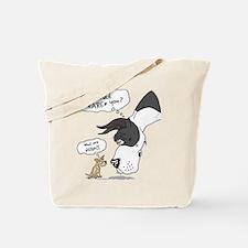 Mantle Dane WhatRU Tote Bag