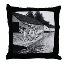 Yale Varsity 1910 to 1915 Throw Pillow