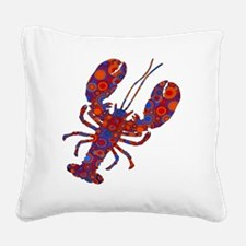 POP LOBSTER Square Canvas Pillow