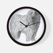 Komondor Wall Clock