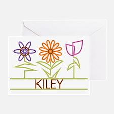 KILEY-cute-flowers Greeting Card