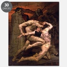 1850 Dante and Virgil in Hell Puzzle