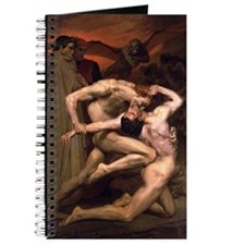 1850 Dante and Virgil in Hell Journal