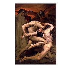 1850 Dante and Virgil in  Postcards (Package of 8)