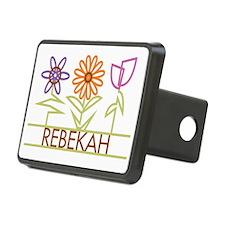 REBEKAH-cute-flowers Hitch Cover