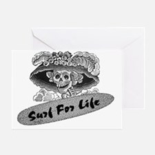 Surf For Life Greeting Card
