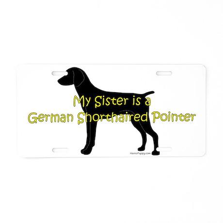 GSPSister Aluminum License Plate