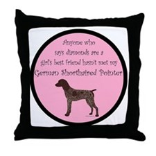 GSPColorGBF Throw Pillow