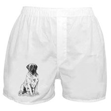 Mastiff Sitting Boxer Shorts