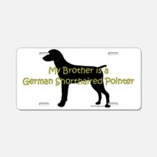 GSPBrother Aluminum License Plate