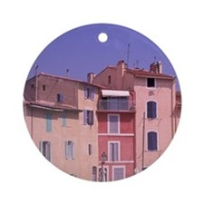 Mirror of the Birdse, Martigues. Mi Round Ornament