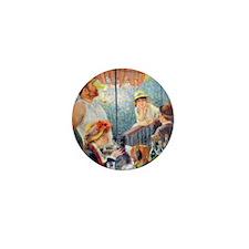 Renoir Boating Button2 Mini Button