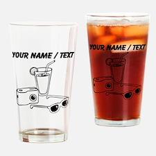 Custom Vacation Drinking Glass