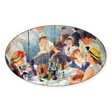 Renoir Boating Coin Decal