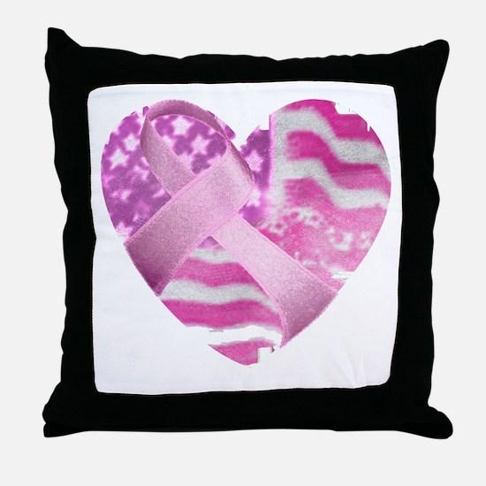 heart_cancer Throw Pillow