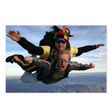 Skydive 12 Postcards (Package of 8)