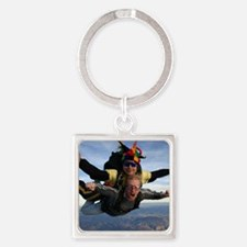 Skydive 12 Square Keychain