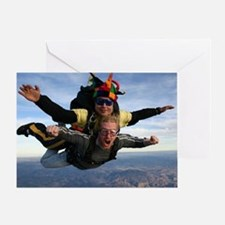 Skydive 12 Greeting Card