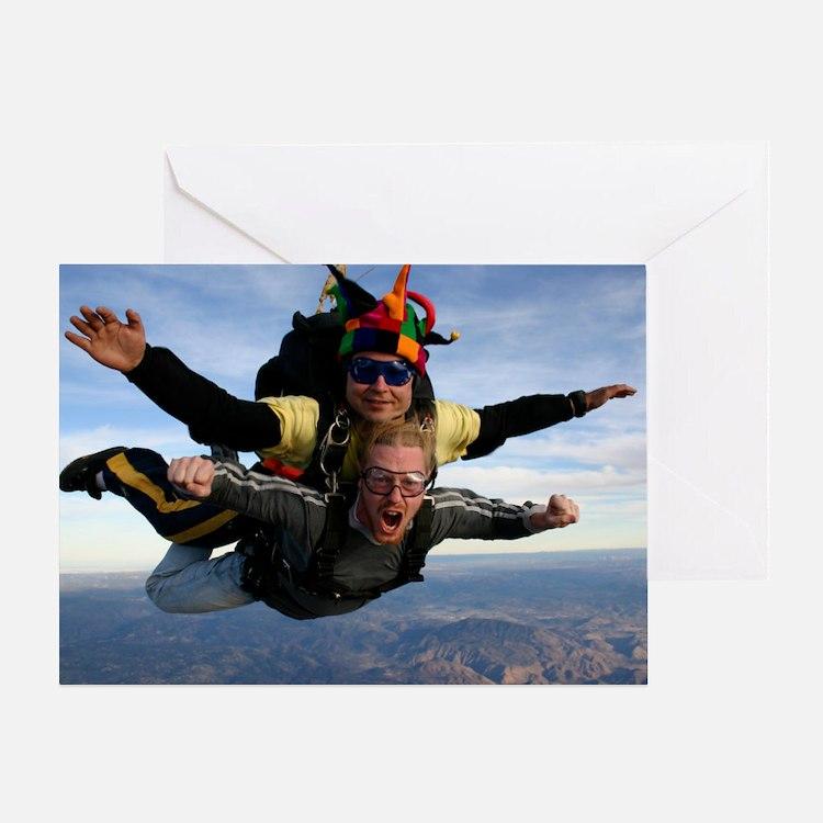Skydive 12 Greeting Card