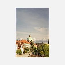 Historical Center of Prague-UNESC Rectangle Magnet