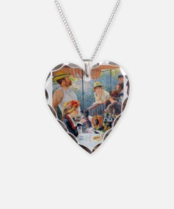 Renoir Boating FF Necklace