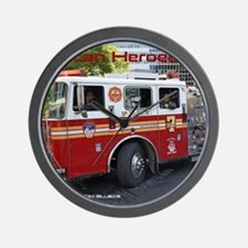 Fireman 06 Wall Clock