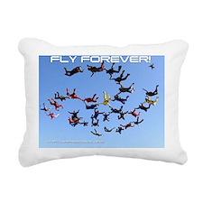 skydive cover Rectangular Canvas Pillow