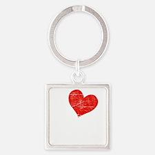 Iheartedward1dk Square Keychain