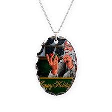 santa claus 7_magnet Necklace