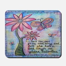 cordeliasbutterflies revised Mousepad