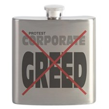 protest corporate greed Flask