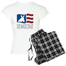 Democrat Donkey Flag Pajamas