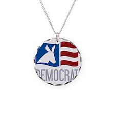 Democrat Donkey Flag Necklace