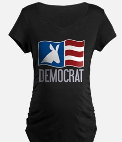 Democrat Donkey Flag T-Shirt