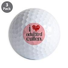 0087654IHeartEdwardPink Golf Ball