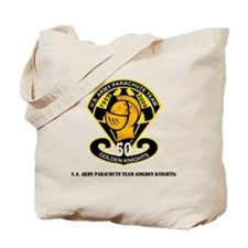 SSI-USAPTGoldenKnights-txt Tote Bag