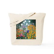 iPad Klimt Flowers Tote Bag